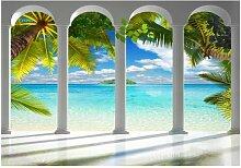 Fototapete Tropisches Meer East Urban Home