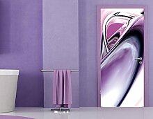Fototapete Tür Papier No.24 'CLIMAX' 100x210cm Foto Tapeten Tür 3D Digital Art , Größe:210cm x 100cm