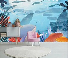 Fototapete Unterwasserhai Vlies Tapete Wohnzimmer