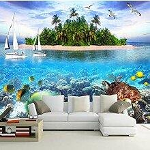 Fototapete Unterwasserwelt 3D großes Wandbild Bad