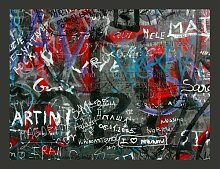 Fototapete Urban graffiti 154 cm x 200 cm