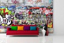 Fototapete Urban Graffiti - weitere Größen und