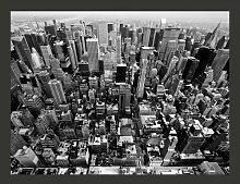 Fototapete USA, New York: schwarz-weiß 231 cm x