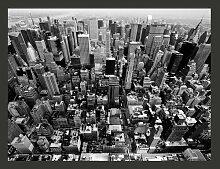 Fototapete USA, New York: schwarz-weiß 309 cm x