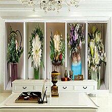 Fototapete Vase 200CM x 175CM Vlies Tapete Moderne