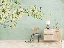 Fototapete Vintage Blume 400x280cm 3XL Vliestapete