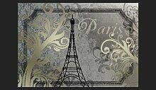 Fototapete Vintage Paris 245 cm x 350 cm
