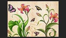Fototapete Vintage - Spring 245 cm x 350 cm