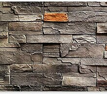 Fototapete Vintage Ziegelmauer 3D Wandbilder Für