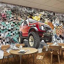 Fototapete Vlies Auto 3D Wandbild Aufkleber Für