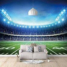 Fototapete Vlies Fußball 3D Vliestapete Aufkleber