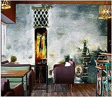 Fototapete Vlies Tapete Abstrakter gemalter