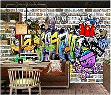 Fototapete Vlies Tapete Graffiti der weißen