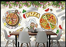 Fototapete Vlies Tapete Westliche Pizza Wandtapete