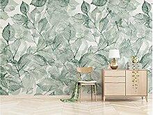 Fototapete Vlies Wand Tapete Grüne Blätter