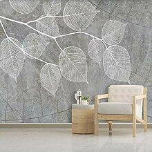 Fototapete Vlies Wanddeko Blätter 250CM x 175CM
