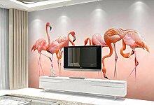 Fototapete Vlies Wanddeko Flamingo 140CM x 100CM