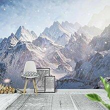 Fototapete Vlies Wanddeko Schnee Berglandschaft