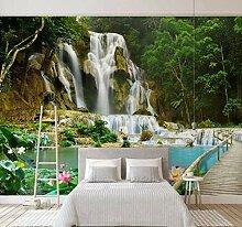 Fototapete Vlies Wasserfall 3D Vliestapete