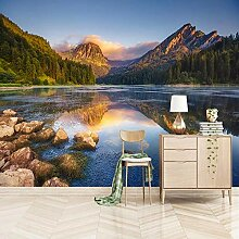 Fototapete Waldsee Naturlandschaft 3D Wandbilder