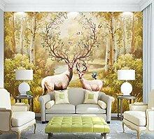 Fototapete Waldtiere Tapete Wandbilder Wohnzimmer