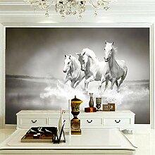 Fototapete Wandbild 120x100cm Drei Weiße