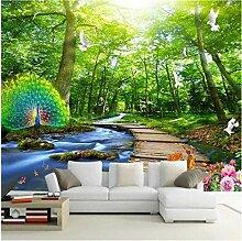 Fototapete wandbild 3d effekt wohnzimmer