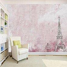 Fototapete Wandbild 3D Tapete rosa romantische