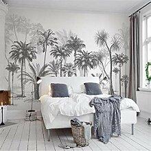 Fototapete Wandbild 3D Tapete schwarz und weiß