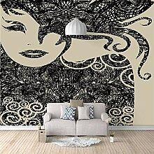 Fototapete Wandbild Abstrakte Schönheit mit