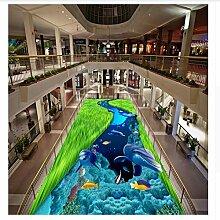 Fototapete Wandbild Boden Frische Unterwasser