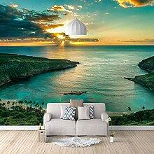 Fototapete Wandbild Hawaii Meer Sonnenuntergang