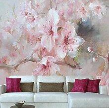 Fototapete Wandbild Japanische rosa Kirschblüte