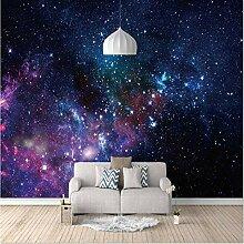 Fototapete Wandbild Lila Universumsgalaxie