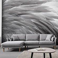 Fototapete Wandbild Moderne minimalistische graue