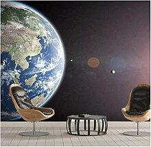 Fototapete Wandbild Sternenhimmel Universum Erde