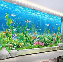 Fototapete Wandbild Tapete 3D Unterwasserwelt