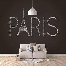 Fototapete Wandbild Vintage Paris Eiffelturm