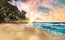 Fototapete Wandbild Vlies Sonnenuntergang 350 *