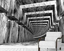 Fototapete Wandbilder 3D Effekt Profilgebäude Mit