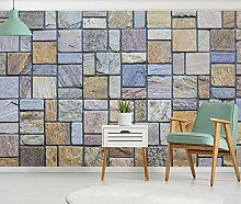 Fototapete Wandbilder 3D Effekt Steinwand Tapete