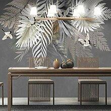 Fototapete Wandmalerei 3D-Pflanze Blätter