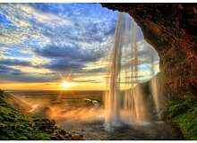 Fototapete Wasserfall 0.70 m x 104 cm East Urban