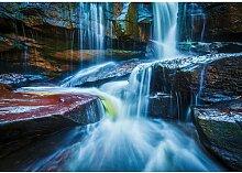 Fototapete Wasserfall 2.54 m x 368 cm