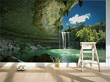 Fototapete Wasserfall Natur Landschaft 3D Tapete