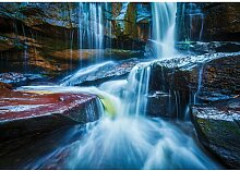 Fototapete Wasserfall Papier 1.84 m x 254 cm East