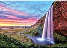 Fototapete Wasserfall Papier 2.8 m x 368 cm