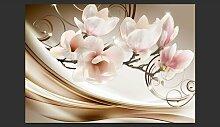 Fototapete Waves of Magnolia 280 cm x 400 cm East