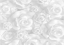 Fototapete Weiße Blumen