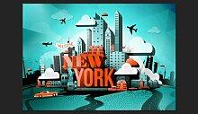 Fototapete Welcome New York 210 cm x 300 cm